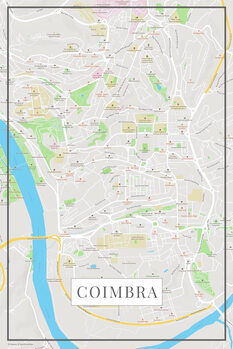 Map of Coimbra color