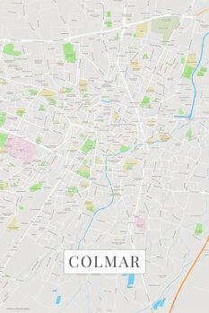Map Colmar color