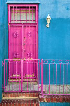 Art Print on Demand Colors Gateway Deep Pink & Powder Blue