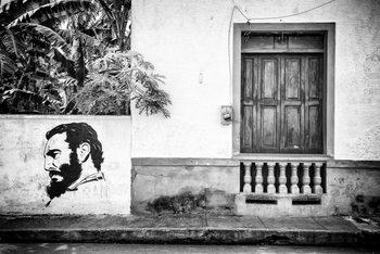 Art Print on Demand Cuban Façade