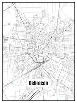 Map of Debrecen