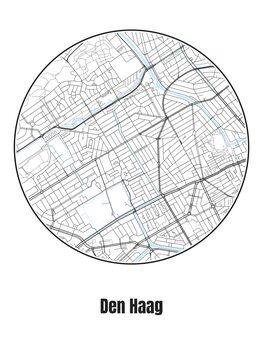 Map of Den Haag