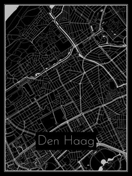 Map of Den Haag