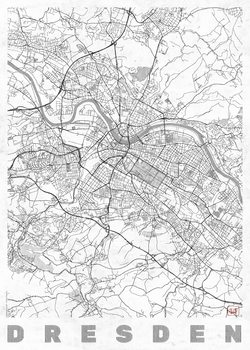 Map of Dresden
