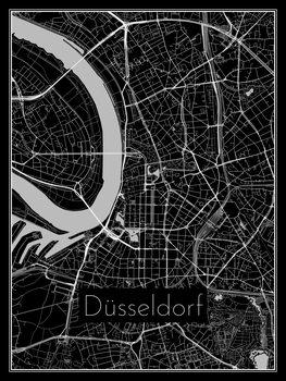 Map of Düsseldorf