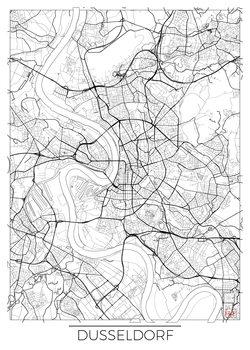 Map of Dusseldorf