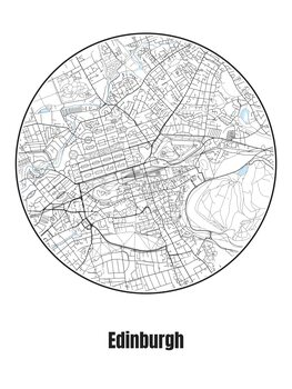 Map of Edinburgh