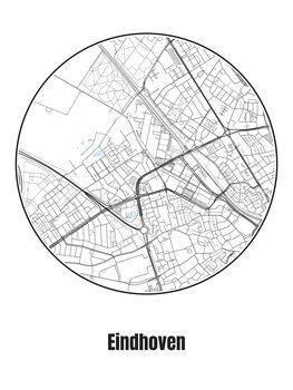 Map of Eindhoven