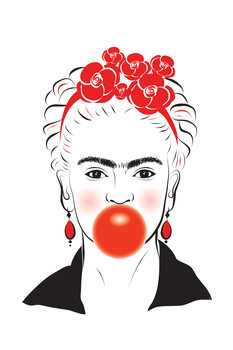 Illustration Frida