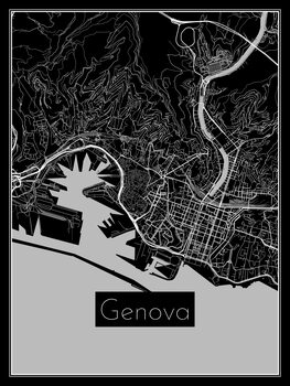 Map of Genova