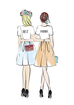 Illustration Girlfriends