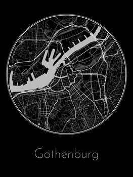 Map of Gothenburg