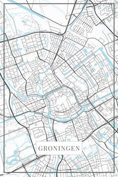 Map of Groningen white