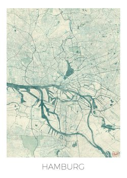 Map Hamburg