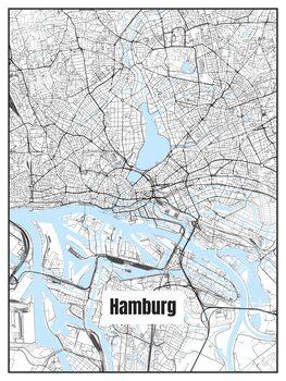Map of Hamburg
