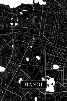 Map of Hanoi black