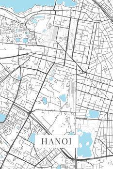 Map of Hanoi white