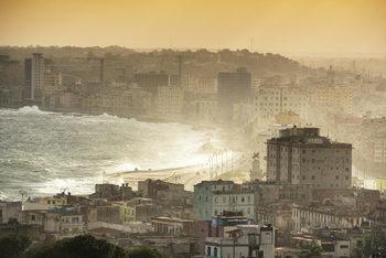Art Print on Demand Havana Sunrise