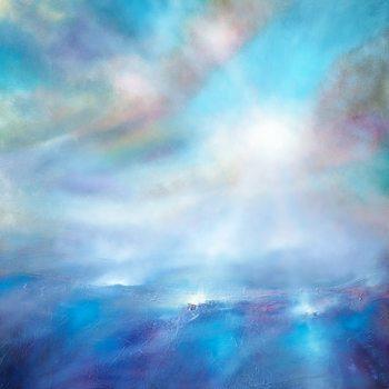 Illustration Heavenly blue
