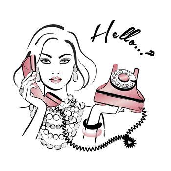 Illustration Hello