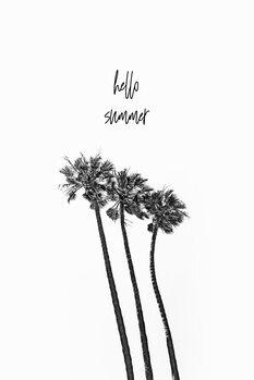 Illustration Hello summer