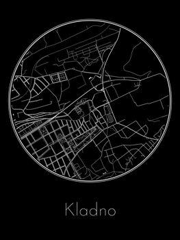 Map of Kladno
