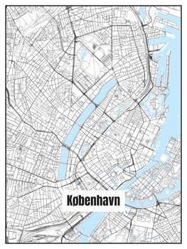 Map of København