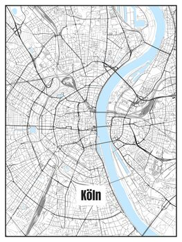 Map of Köln