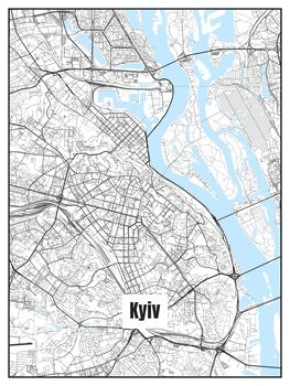 Map of Kyiv
