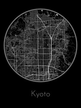 Map of Kyoto
