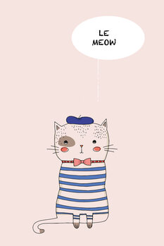 Illustration Le Meow
