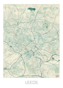 Map of Leeds