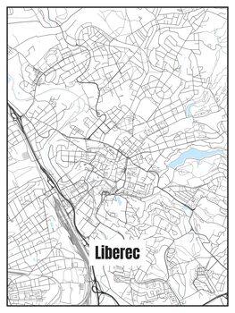 Map of Liberec
