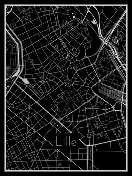 Map of Lille