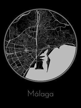 Map of Málaga
