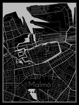 Map of Malmö