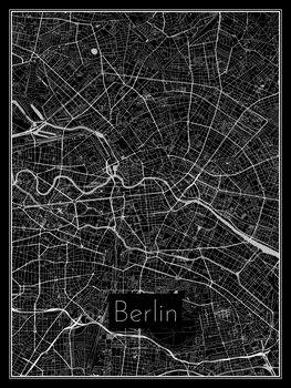 Illustration Map of Berlin