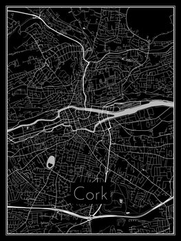 Illustration Map of Cork
