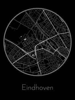 Illustration Map of Eindhoven