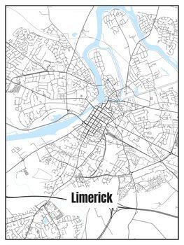 Illustration Map of Limerick