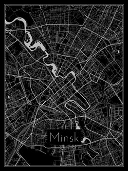 Map of Minsk