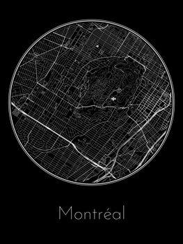 Map of Montréal