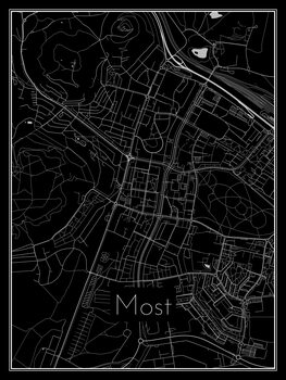 Map of Most
