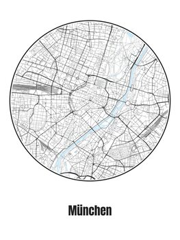 Map of München