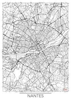 Map of Nantes