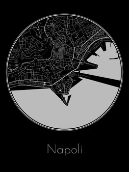 Map of Napoli
