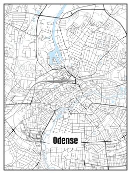 Map of Odense