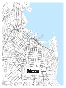 Map of Odessa