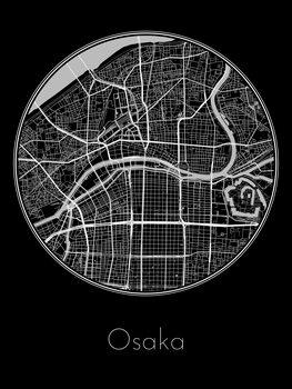 Map of Osaka