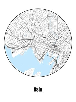 Map of Oslo